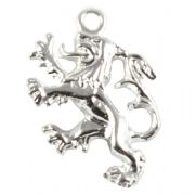 Scottish Lion Rampant Sterling Silver Charm - Scotland